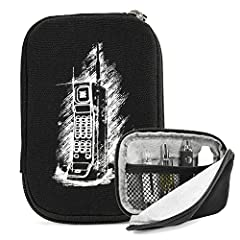 Thin option for carrying and safely storing all your vaping needs. Plush microfiber interior to cushion and protect your device and accessories + rugged canvas exterior. Mesh interior compartment to store juices or mods. Three-fourth zippered...