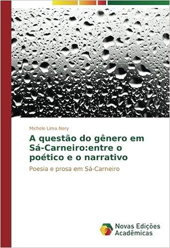 Descargar Utorrent Para Android A Questão Do Gênero Em Sá-carneiro: Entre O Poético E O Narrativo PDF Gratis Sin Registrarse
