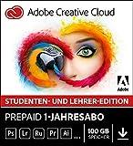 Adobe Creative Cloud   Student und Teacher   1 Jahreslizenz   PC/Mac   Online Code & Download