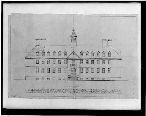 (HistoricalFindings Photo: Wren Building,College of William and Mary,Williamsburg)