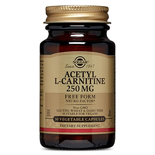 Solgar – Acetyl L Carnitine 250 mg, 30 Vegetable Capsules
