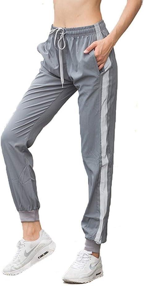 H Zhou Harem Pantalones Running Polainas Deportivo Pantalones Holgados Mujer Yoga Y Pilates Pantalones Color Grey Size Uk 10 57 65kg Amazon Es Jardin