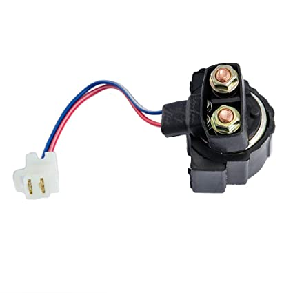 amazon com starter solenoid relay honda trx 300 trx300fw fourtrax1988 Honda Fourtrax 300 Wiring Diagram #19