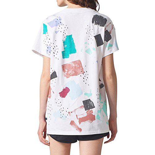 adidas T-Shirt Color Dab Blanc/Multicolore Taille: 32 XS (X-Small)