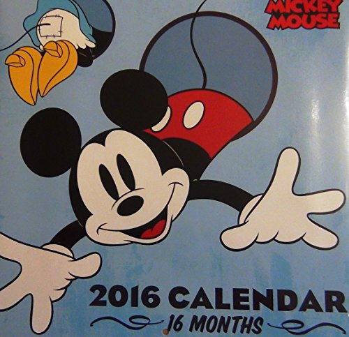 16-Month 2016 Mickey Mouse Wall Calendar