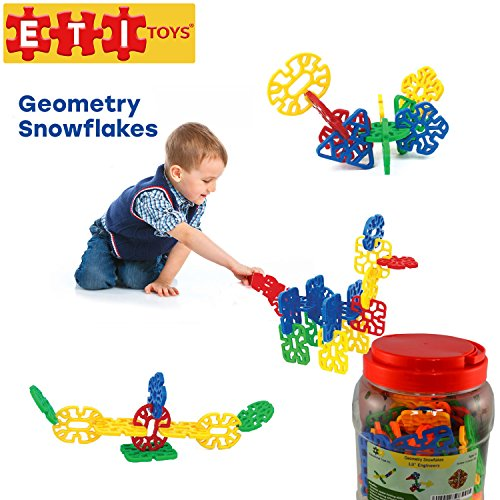 ETI-Toys-Geometry-Snowflakes-for-Boys-and-Girls-80-Piece-Set-for-Making-Endless-Creations-Great-for-Learning-Developing-and-Having-Fun-Make-Your-Imagination-Today