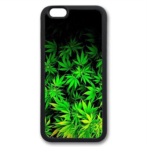 Coque silicone BUMPER souple IPHONE 7 - Cannabis Weed Smoke SWAG mignon motif 3 DESIGN case+ Film de protection OFFERT