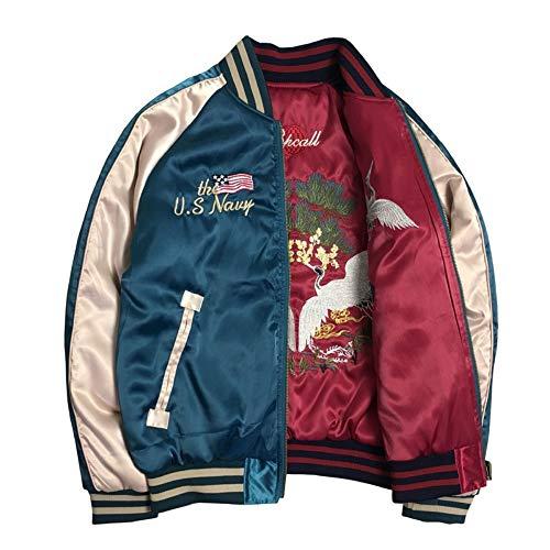 Donna Bomber Lettera Rlwqlfs Femminile Jeans Unisex 4l Top Primavera Pilota M Cappotto Ricamo Giacche Base Autunno Giacca Bee Allentato Chic Di qrt6r0
