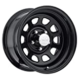Pro Comp Steel Wheels Series 51 Wheel with Gloss Black Finish (17x8''/6x5.5'')