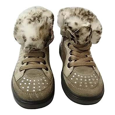 Bimbi Shoe For Girls (Size 28) [Beige]