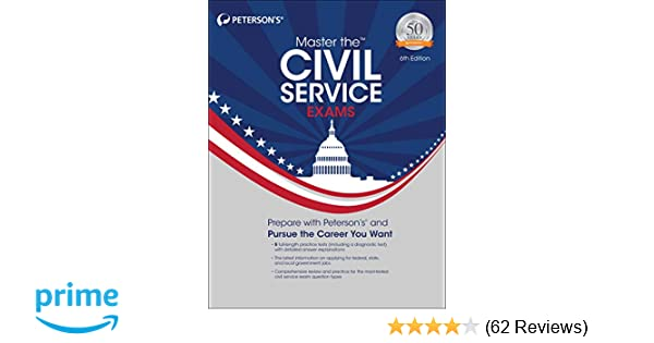 Master The Civil Service Exams Peterson S 9780768943139
