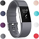 GEAK Replacement Bands for Fitbit Charge 2, Fitbit Charge2 Wristbands,Small,Grey