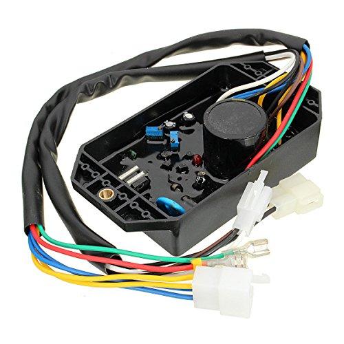 Li Bai AVR KI-DAVR-50S 10 Wires Automatic Voltage Regulator for 5KW 4.5KW 6KW 186F Diesel Generator 1 Phase 4500W 5000W 6000W