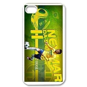 Generic Case Bienvenido Neymar For iPhone 4,4S 579J7I8724