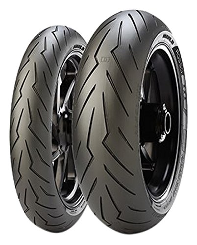 Pirelli Diablo Rosso III Rear Motorcycle Tires - 180/55ZR-17 2635500
