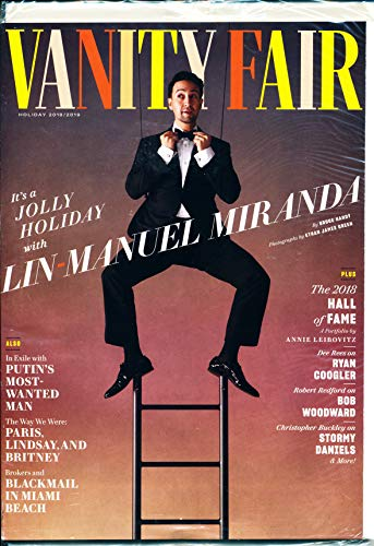(Vanity Fair Magazine (Holiday, 2018/2019) Lin-Manuel Miranda)