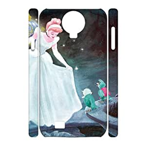 SYYCH Phone case Of Cinderella Cover Case For Samsung Galaxy S4 i9500