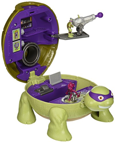 Ninja Teenage Mutant Turtles (Teenage Mutant Ninja Turtles Micro Mutant Donatello's Lab Pet to Turtle Playset)