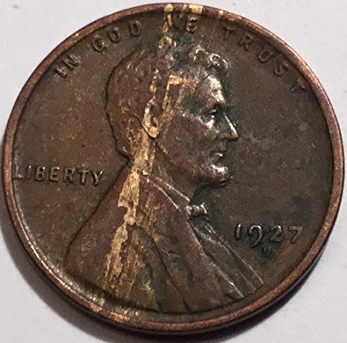 1927 D Lincoln Wheat Cent Penny Extremely Fine US Mint