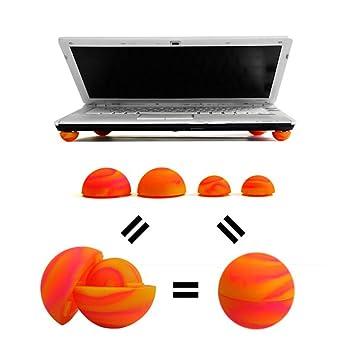 XU-XIAZHI,Mini Bola de enfriamiento Ordenador portátil Colorido Ordenador portátil de refrigeración Enfriador