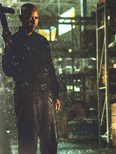 Denzel Washington - The Equalizer -Signed 8x10 Photograph in Mint with COA & PROOF Picture