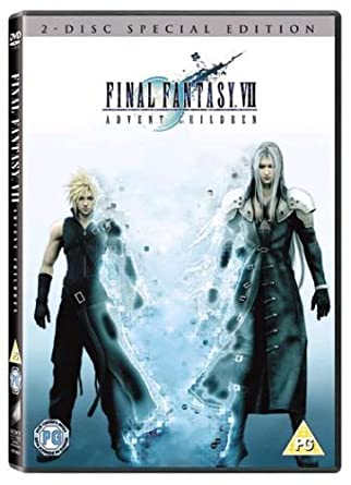 Amazon com: Final Fantasy VII: Advent Children (2 Disc