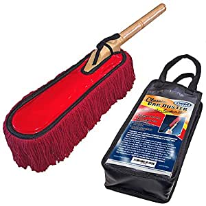Amazon Com Classic Car Duster With Solid Wood Handle