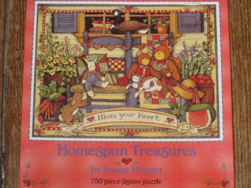 Homespun Treasures by Susan Winget Bless Your Heart 750 Piece Jigsaw Puzzle
