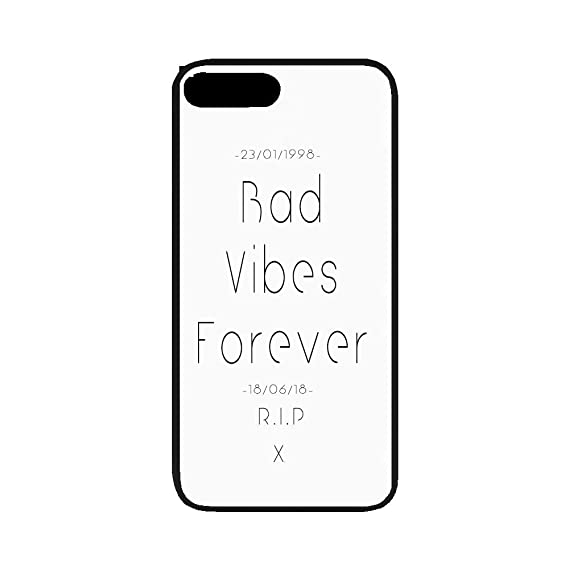 Amazon com: Custom Rubber Case for iPhone,Bad Vibes Forever