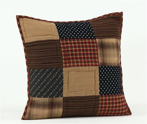 Patchwork Decorative Throw Pillow - 1