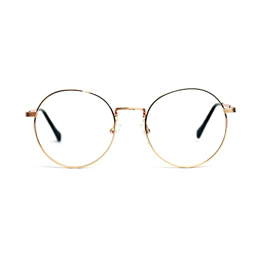 Unique Retro Vintage Style Sunglasses & Eyeglasses 1920s Vintage Eyeglasses Frames Oliver Round Frames 3015 Gold Unisex Eyewear Kpop Style £9.70 AT vintagedancer.com