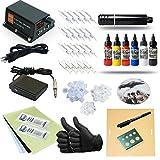 New Cartridges Rotary Pen Tattoo Machine Power Supply Kit With Free Cartridge Holder
