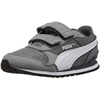 PUMA unisex-child ST Runner NL Velcro Kids Sneaker,