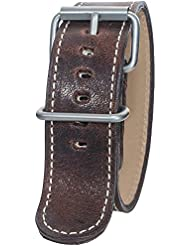Bertucci B-103 Montanaro Survival Horween Nut Brown 26mm Leather Watch Band