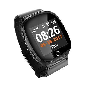 Relojes Inteligentes D100 D200 Ancianos Smart Watch GPS Lbs ...