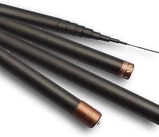 LZH Ultra-leichte Angelrute 8-15 Meter hoch-koreanische schwarze Angelrute Fanggerät liefert Teleskop-tragbare lange Pole