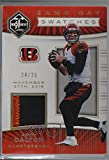 #10: Andy Dalton #24/25 (Football Card) 2017 Panini Limited - Game Day Swatches - Prime #GDS-AD