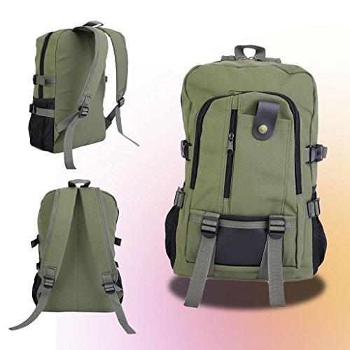 canvas-backpack-mens-women-laptop-shoulder-travel-hiking-rucksack-camping-bag-army-green