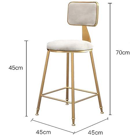 Amazon.com: Taburetes de bar y sillas doradas de lujo ...