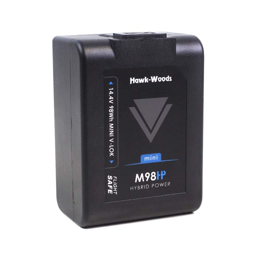 HAWK-WOODS ミニ V-LOK 14.4V 98WH リチウムイオンバッテリー D-TAP付き   B07L5V98NK