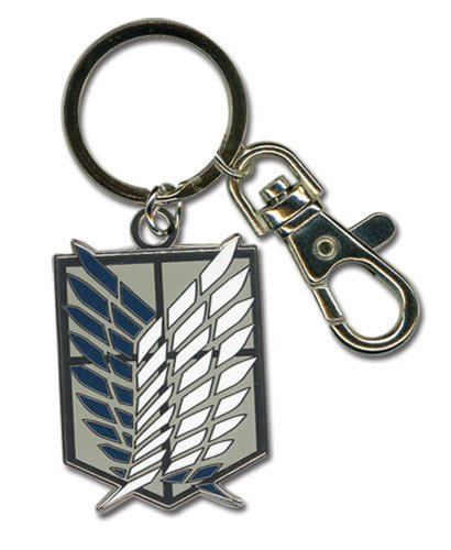 Great Eastern Entertainment Attack On Titan Scouting Legion Emblem Keychain
