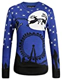 Product review for Camii Mia Women's Crew Neck Pullover Ugly Christmas Sweater