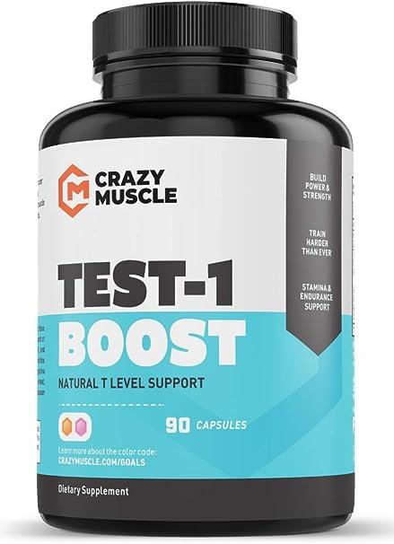Refuerzo De Testosterona Para Hombres Y Mujeres Más De 1 300 Mg Por Cápsula Para Aumentar Los Niveles Bajos De Testosterona En Los Hombres Por El Músculo Loco Revertir Los Efectos