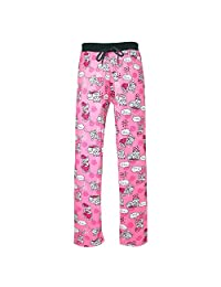 Victoria Collection Women's Novelty Print Drawstring Pajama Pants
