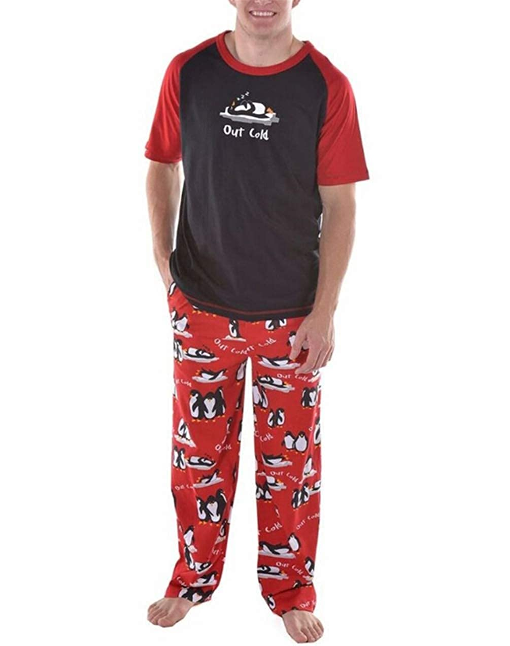Charmemory Penguin Family Matching Pajamas Parent-Child Pjs Sleepwear Outfit
