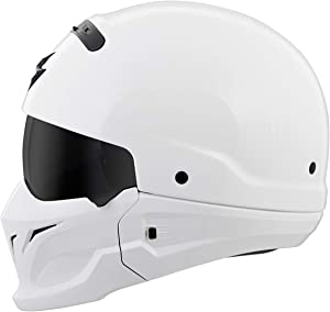 Scorpion Covert Helmet (Medium) (White)