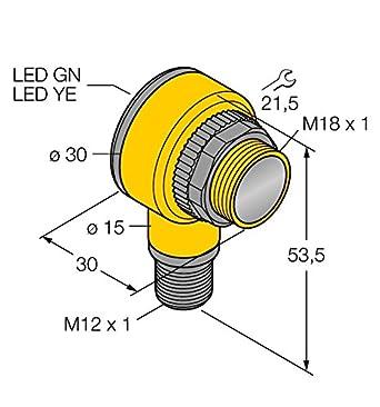 3034740 - t18sp6lq, Opto sensor Reflexion Barrera de luz: Amazon.es: Industria, empresas y ciencia
