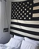 RawyalCrafts American Flag Tapestry Patriotic Wall Hanging USA Flag Tapestry Dorm decor