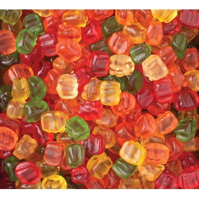 Brach's Wild N' Fruity Tiny Gummy Bears: 5LB Case