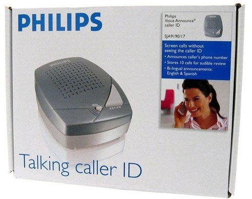 Consumer Electronic Products Philips SJA9190/17 Caller ID with Voice Announce Supply Store